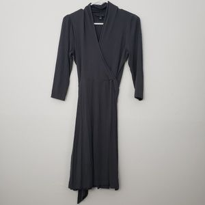 Banana Republic Midi Faux Wrap Dress
